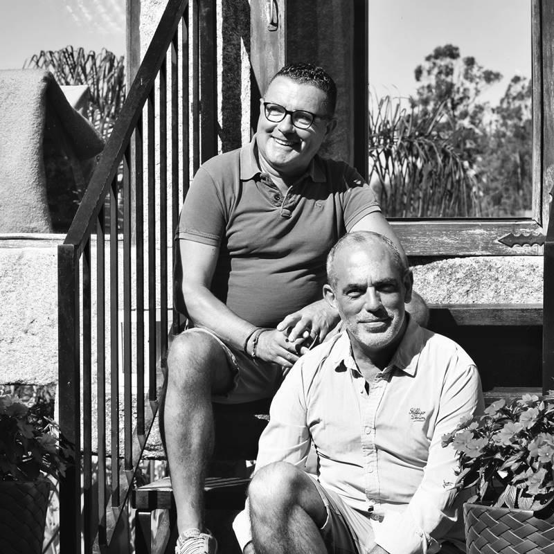 Nacho Crespo & Julio Ouviña - Quinta de San Amaro Hotel & Restaurante